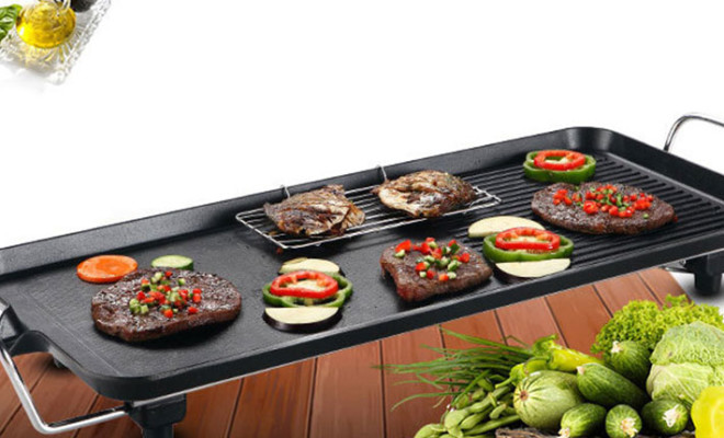 Vỉ nướng Electric Barbecue Plate Samsung DS-6048