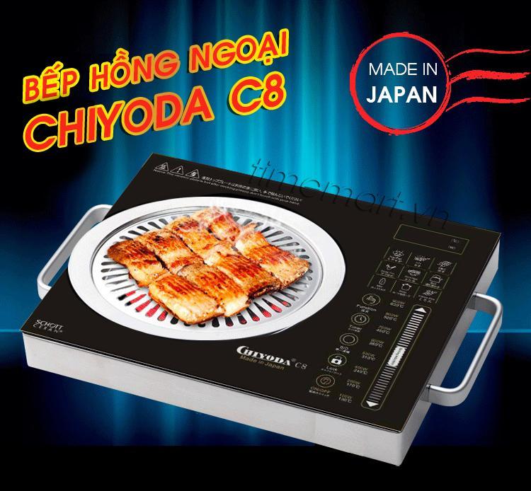 Bếp hồng ngoại Chiyoda C8 Nhật Bản