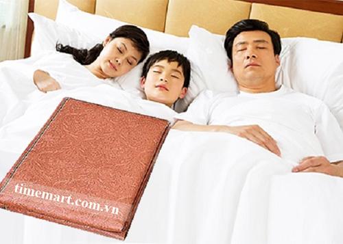 chăn điện hàn quốc nâng niu giấc ngủ gia đình bạn