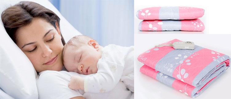 Chăn điện hàn quốc cho bạn và bé ngủ ngon