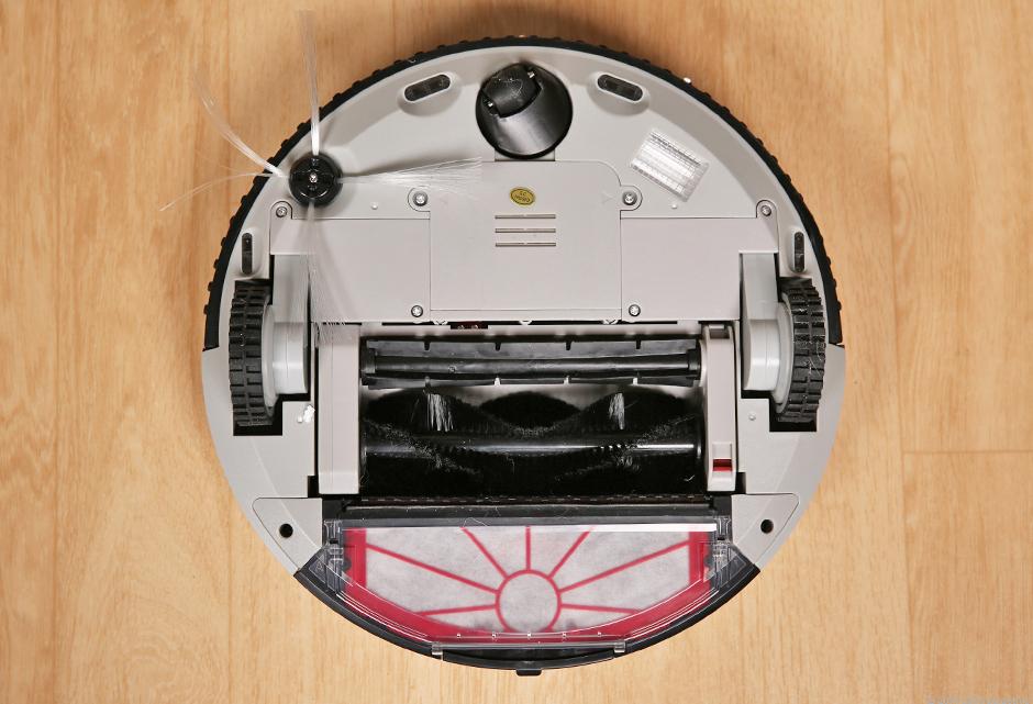 Mặt sau của robot hút bụi thông minh Hovo 510