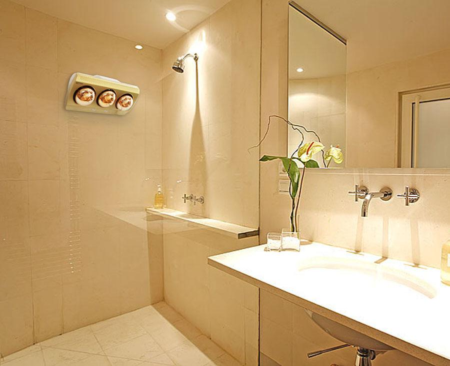 đèn sưởi nhà tắm công nghệ Đức