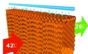 Thay đổi nhiệt độ môi trường giữa tấm làm mát