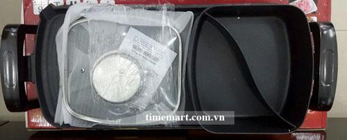 Bếp lẩu nướng 3 trong 1 Holtashi TC-13326G