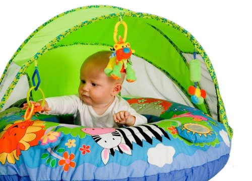Thảm chơi jolly baby fun shade discovery playring