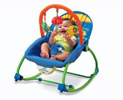 Ghế rung fisher price 1769 (Fisher-Price Infant-To-Toddler Rocker)