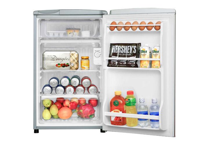 Kết quả hình ảnh cho tủ lạnh mini toshiba